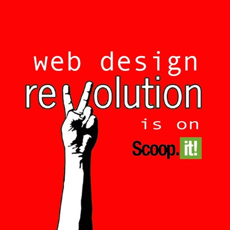 Contribute To The Web Design Revolution in 2015 | Design Revolution | Scoop.it