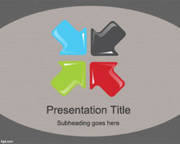 Big Arrows PowerPoint Template | Free Powerpoint Templates | malnutrition | Scoop.it