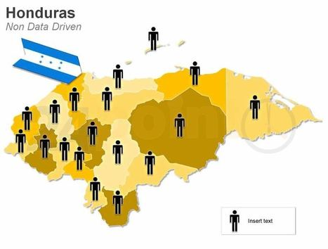 Honduras - Demographic PowerPoint Map | PowerPoint Presentation Tools and Resources | Scoop.it