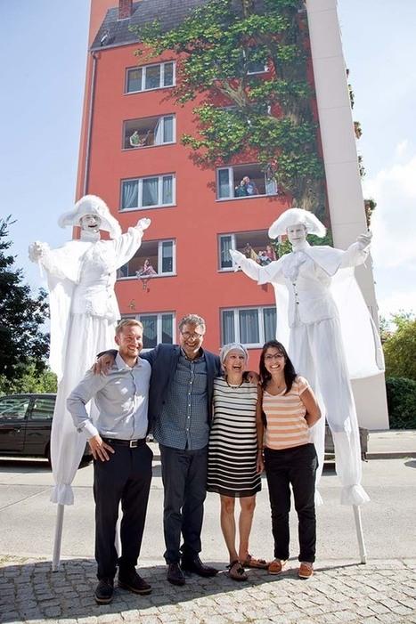 La Fresque de Solidarität, à Berlin, 22 000 m2 de peintures murales ... | CITECREATION | Scoop.it