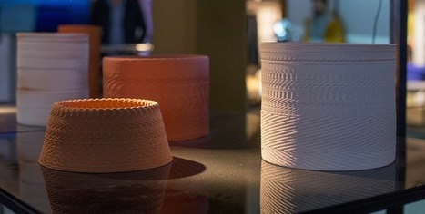Artists Turn Sound Into Ceramics with Custom 3D Printer | Research_topic | Scoop.it