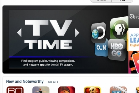 Apple highlights TV content on iOS in App Store section | TV Everywhere | Scoop.it