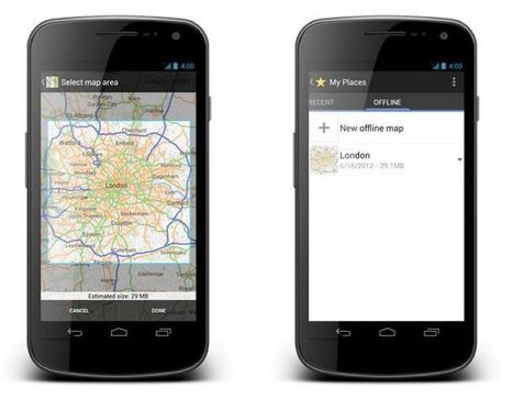 Go Offline with Google Maps for Android | GIS Móvel | Scoop.it