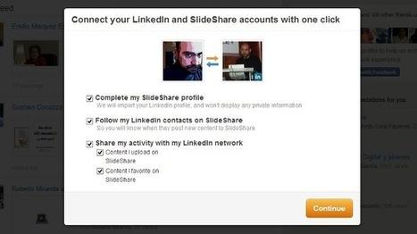 Slideshare ahora permite vincular nuestra cuenta con LinkedIn | Educacion, ecologia y TIC | Scoop.it