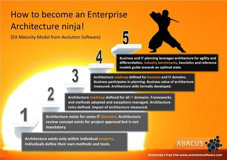 Avolution :: 5 steps to becoming an enterprise architecture ninja | The Enterprise Architecture Daily | Scoop.it