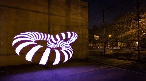 Pixelstick, l'étonnant bâton lumineux qui va révolutionner l'univers du Light Painting   Remembering tomorrow   Scoop.it