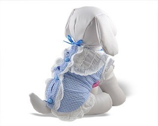 Winnie Blue Lace Top | Dog Fashion | Scoop.it