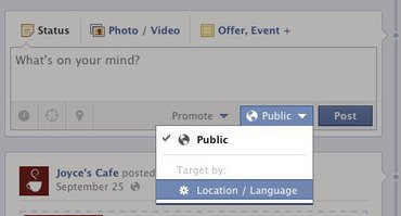 Control Who Sees Your Facebook Page Status Updates | Fanpage ... | AtoZ-Facebook,Twitter, Linkedin Marketing Social media2 | Scoop.it