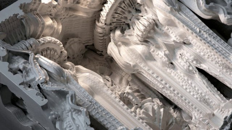 Artists Are 3D-Printing a Room That Looks Like An Alien Cathedral - Gizmodo | Top CAD Experts updates | Scoop.it