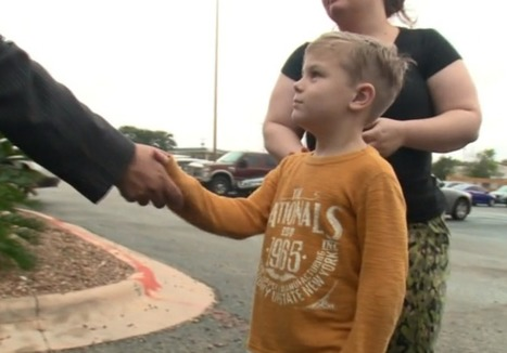 7-year-old does something amazing after Texas Islamic center is disgustingly defaced | This Gives Me Hope | Scoop.it