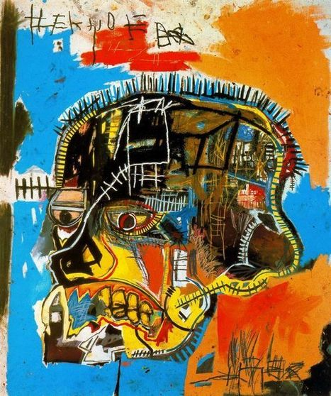 Basquiat: His Influences, His Figures, and Why He's Important Today #art #painting #Basquiat #NewYork | Social media - promoting the arts. | Scoop.it