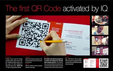 Une bonne utilisation d'un code QR : Tester le QI à l'aide d'un code QR | E-Tourisme Mobile | Scoop.it