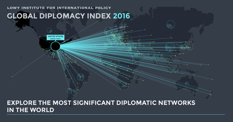 Global Diplomacy Index | Data visualization | Scoop.it
