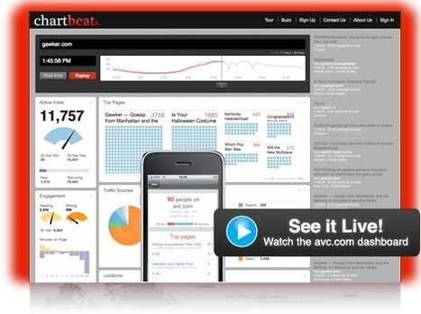 Chartbeat | Social media kitbag | Scoop.it