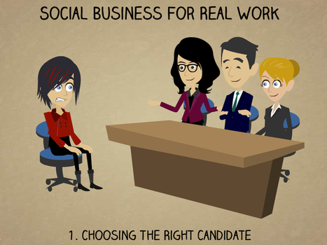 Social Business For Real Work 1: Choosing The Right Candidate | Social Business | Scoop.it