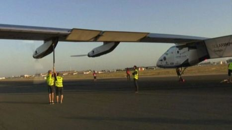Solar Impulse completes Atlantic crossing with landing in Seville - BBC News | Capital económica de Andalucía | Scoop.it