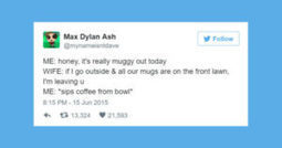 23 Hilarious Tweets from Husbands That Are Winning at Marriage | Mogul | Scoop.it