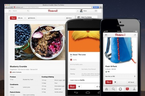 Pinterest Sharing Levels Soaring: Report - SiteProNews | SEO | Scoop.it