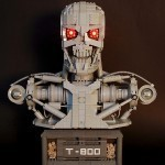 LEGO Terminator Bust: Ready to Terminate You, Brick by Brick | All Geeks | Scoop.it
