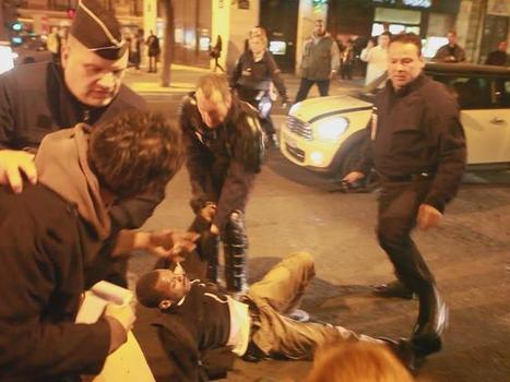Rechazo al abuso policial contra las personas en París - Actuable | Agora Brussels | Scoop.it