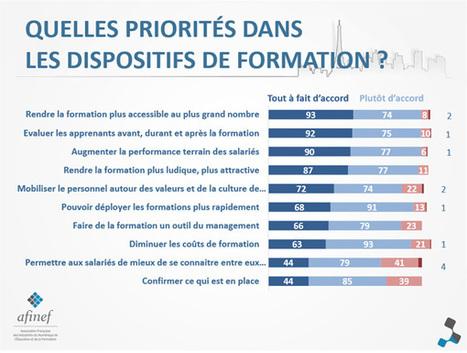 Baromètre AFINEF 2014 : le recours à l'e-Learning s'intensifie en France | HUBMODE.ORG Formation digitale Mode | Scoop.it