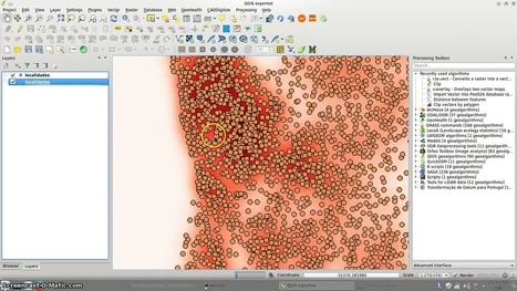 QGIS heatmap renderer for point layers | Everything is related to everything else | Scoop.it