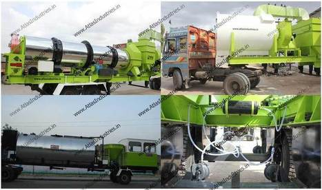 Mobile asphalt drum mix plant 40-60 tph in Philippines - A case study | Road & Civil Construction Machinery | Scoop.it