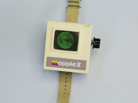 Comment construire votre propre Apple Watch (style Apple II) | FabLab - DIY - 3D printing- Maker | Scoop.it