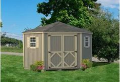 Wood Sheds :: 5 Sided Classic Garden Sheds | Wood Sheds | Scoop.it