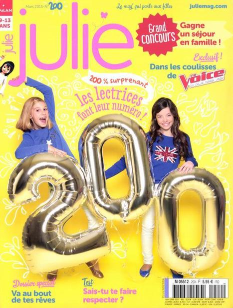 Julie | Revue de Presse ! | Scoop.it