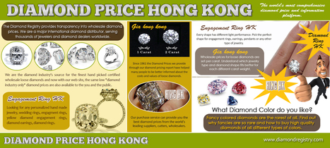 Diamond Ring HK | Diamond Price Chart | Scoop.it