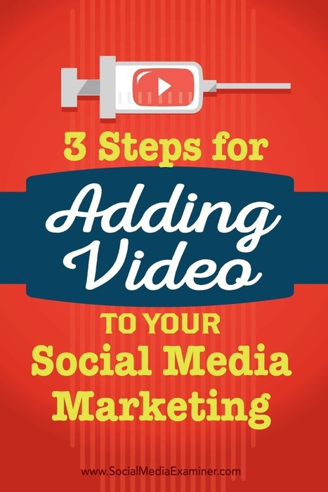 3 Steps for Adding Video to Your Social Media Marketing | Content Marketing & Content Strategy | Scoop.it