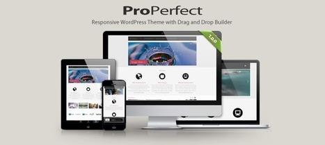 ProPerfect - Fully Responsive Multipurpose WordPress Theme - WP Eden | WordPress | Scoop.it
