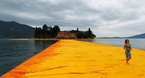 Three-Kilometers-Long 'The Floating Piers' Lets You Walk On Water | WTF Posts | Scoop.it