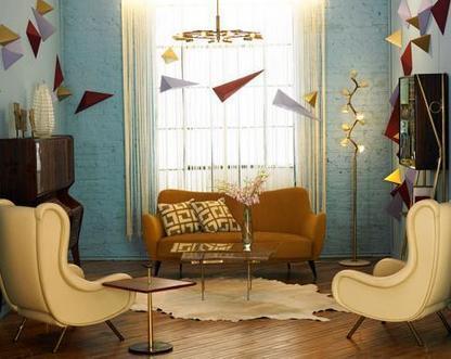 The 50's Style in Interior Design | Interior design | Scoop.it