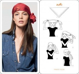 How to Tie Your Hermes Scarf | For Women | Scoop.it