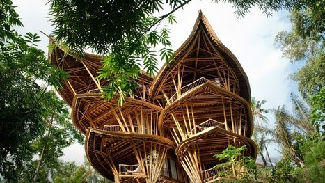 Magical houses, made of bamboo | Green Attitude | Scoop.it