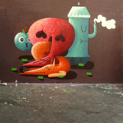 Nicolas Barrome (member of collectif jeanspezial ) | Painter | Street-Artist | les Artistes du Web | Scoop.it