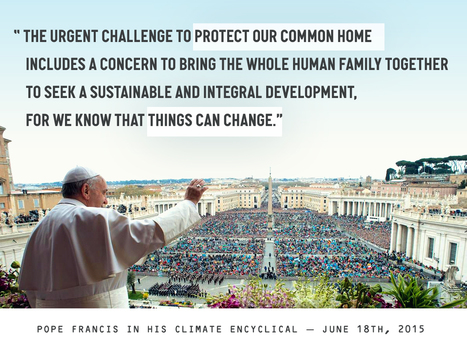 Things you can do right now to help amplify the Pope's message | Take action for a safer climate | Scoop.it