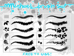 mmishee's brush set by *mmishee on deviantART | Crazy 4 Photoshop | Scoop.it