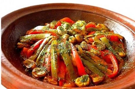 Recette de tajine aux légumes   Tajines   Scoop.it