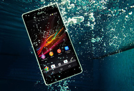 Sony Xperia ZR Smartphone Doubles as an Underwater Camera - PetaPixel | Photography Today | Scoop.it