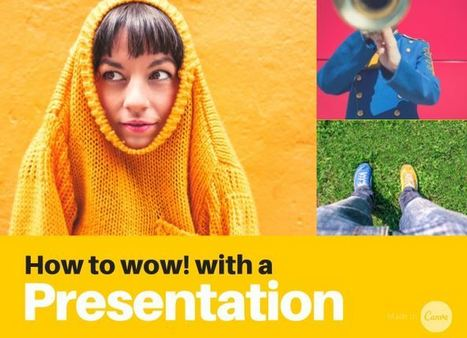 Presentation Design 101 | Digital Presentations in Education | Scoop.it