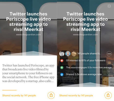 Juice for iOS helps you share content your Twitter followers will love | Multimedia Journalism | Scoop.it