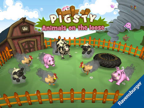 Pigsty - Animals on the loose - A Top Fun Game App for Logical and Reasoning Skills - Fun Educational Apps for Kids | Best Apps for Kids | Scoop.it