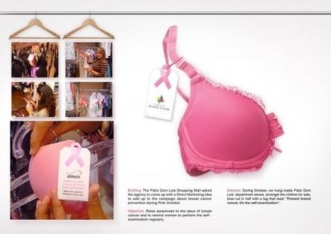 Des moitiés de soutien-gorges pour la prévention du cancer du sein | Campaigning | Scoop.it
