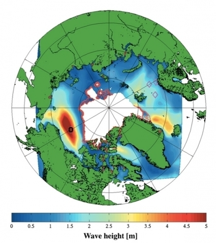 Swelling Waves Could Hasten Demise of Arctic Sea Ice   Sustain Our Earth   Scoop.it
