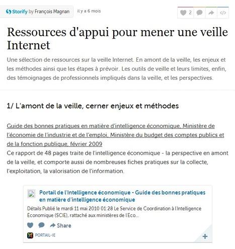 Ressources d'appui pour mener une veille Internet | Social media - E-reputation | Scoop.it