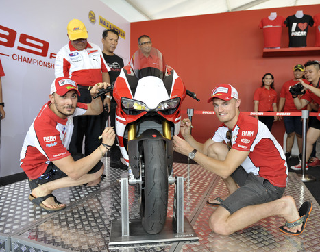 Photo Gallery | Ducati Team - SBK - Sepang Malaysia | | Ductalk Ducati News | Scoop.it