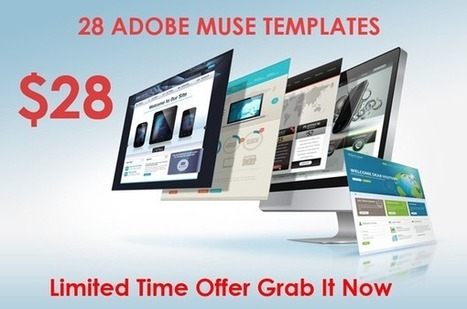 Get 28 Adobe Muse Templates Fo Just $28 | Templates And Themes | Scoop.it